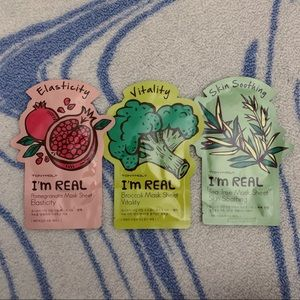 Tony Moly (3) Sheet Masks